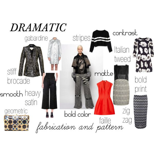 """""""DRAMATIC fabrication and pattern"""" by expressingyourtruth on Polyvore"""