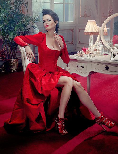 "breathtakingqueens:  ""Eva Green, Campari Calendar 2015  """