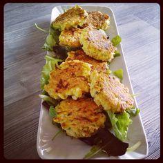 Polpette svuota frigo con riso ricotta e zucchine