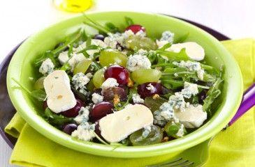 Салат с сыром - рецепты с фото. Как приготовить салаты с фетой, пармезаном, копченым или плавленым сыром