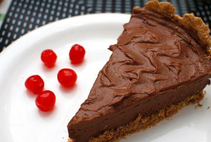 Torta Mousse de Chocolate Vegana