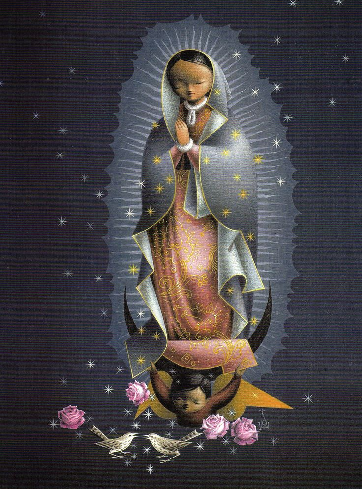 Madonna of Guadalupe by Alejandro Rangel Hidalgo, Colima, Mexico