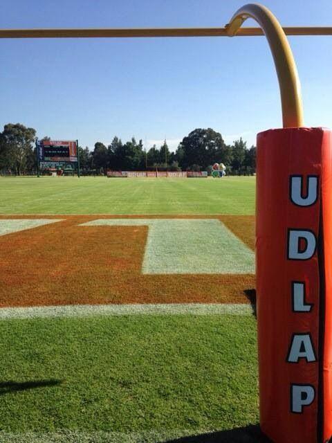 Campo de Futbol Americano UDLAP Cholula Puebla #college #football #goalpost