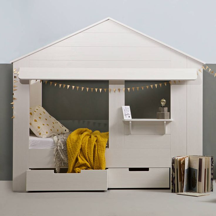 Are you interested in our unique kids bed? With our white kids cabin bed you need look no further.