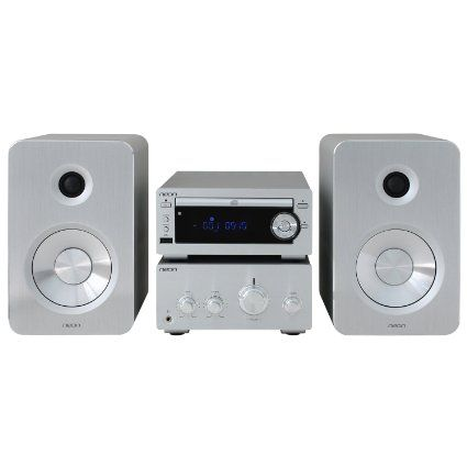 Neon Electronic® Micro Hifi MCB1584-12 Bluetooth System mit CD/MP3 FM/AUX, mit EU Adapter