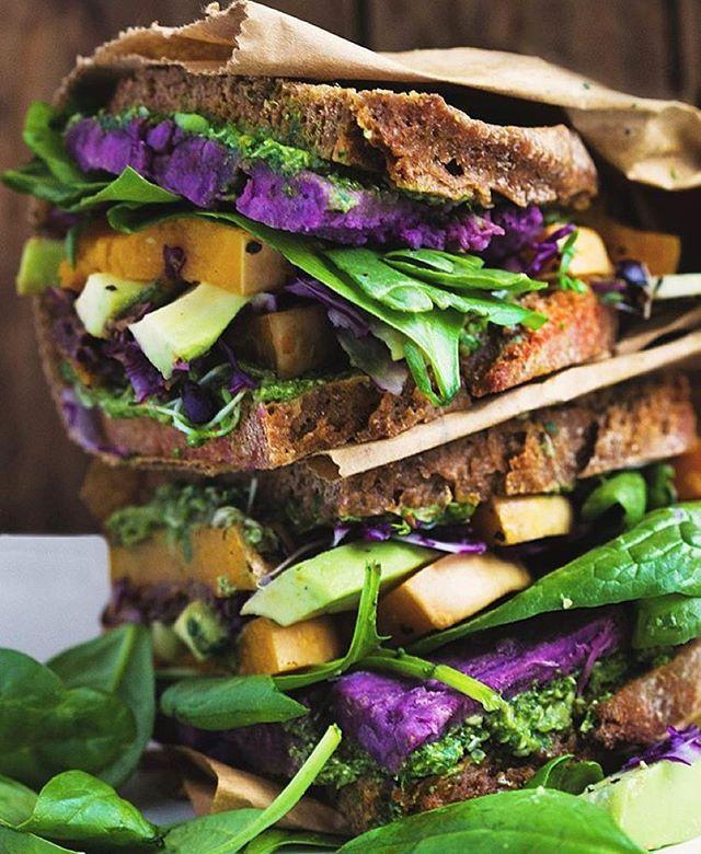 Roasted Yam And Radicchio Sandwiches Recipes — Dishmaps