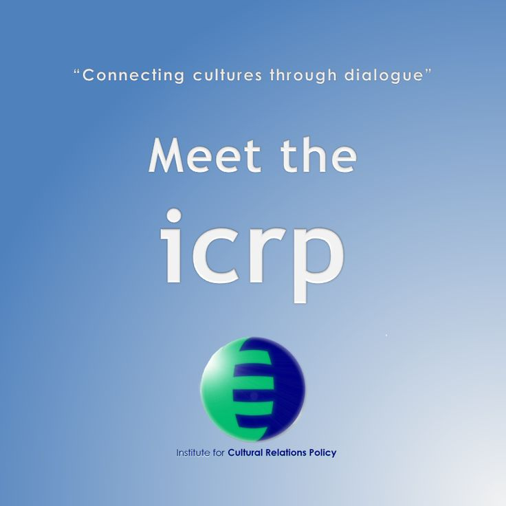 "An information leaflet contains all relevant information about the ICRP and what it has achieved so far. The title of the leaflet is ""Connecting cultures through dialogue: Meet the ICRP"
