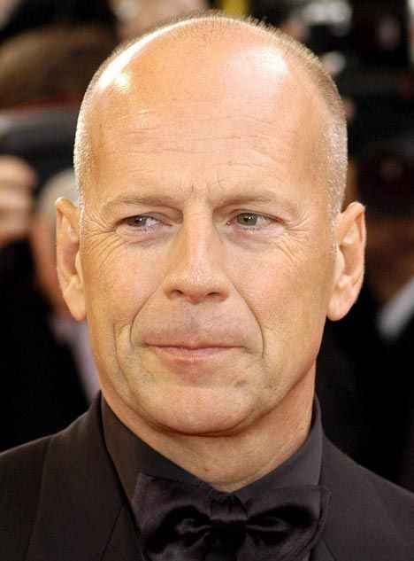 Bruce Willis says no to cosmetic surgery