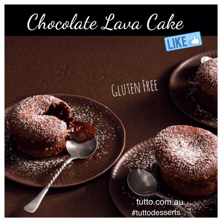 Nothing is better than having warm homemade gluten free Chocolate Lava Cake with Froyo or ice cream in this cold weather. #tuttodesserts #chocolate #seeaustralia #frozenyogurt #icecream #pressedjuice #homemade #melbourne #melbournefood #instafood #instalike #instadaily #swag #love #desserts