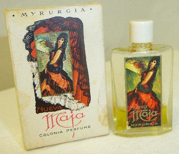 Nueva Maja by Myrurgia 1/7 oz with Box used Mini Perfume Vintage Spain ie.picclick.com