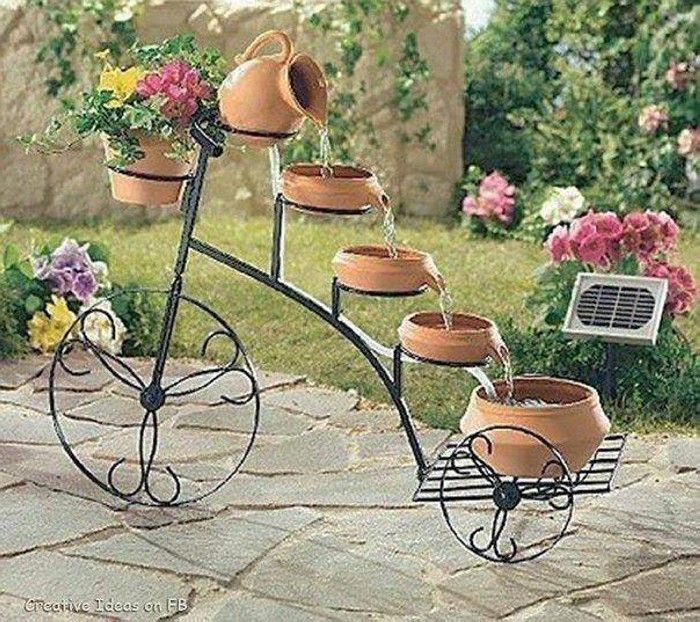 Garden Art Projects | Upcycle Art   #‎Garden‬ ‪#‎Art‬ ‪#‎Decor‬ ‪#‎GardenIdeas‬ ‪#‎GardenArt‬ ‪#‎HomeDecor‬