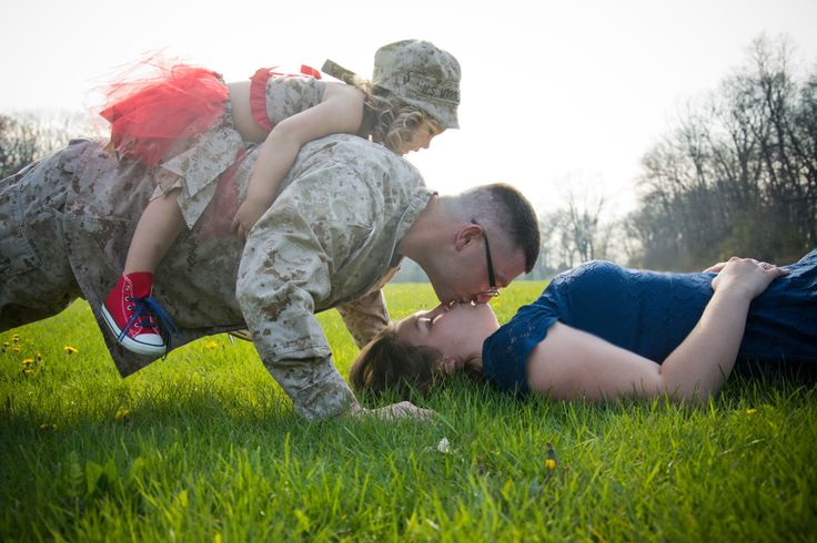 Wisconsin military family photo session  Light Source Photography