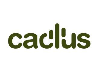 #cactus, #logo, #verbicon Logo Design: Wordmarks