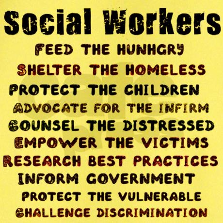 Social Work - there are many parallels with lawyers and also a requirement to uphold the law and hopefully inform those whom can change it!