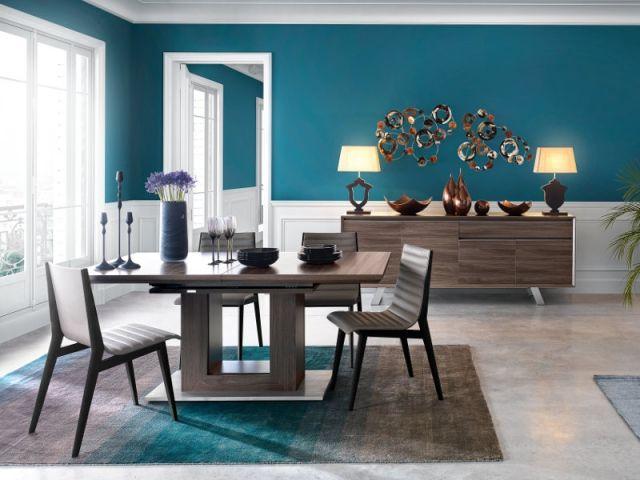 Les 25 meilleures id es de la cat gorie papier peint pour salle manger sur pinterest chaises - Salle a manger tendance ...
