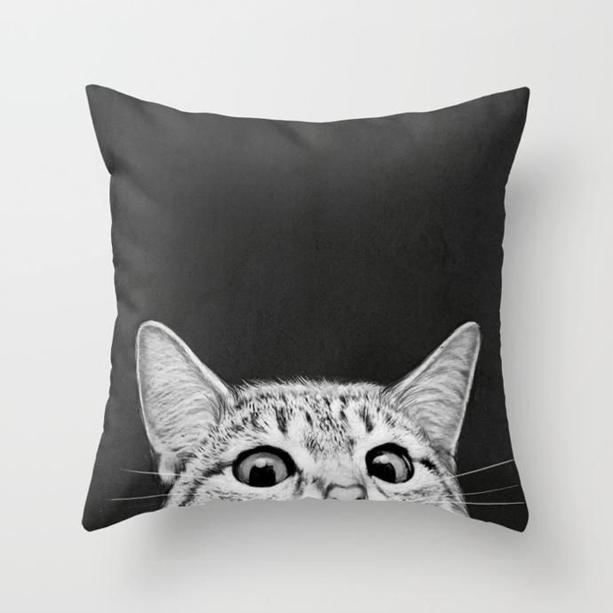 We took a browse through Society6's massive range of cushion covers, from bright and colourful to simply chic, designed by artists across the globe.