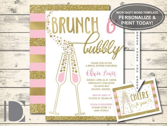 Hey, I found this really awesome Etsy listing at https://www.etsy.com/listing/480824959/brunch-and-bubbly-bridal-shower