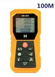 Laser distance meter 100m rangefinder handheld outdoor distance measuring device instrument angle level measurement HR-401 012