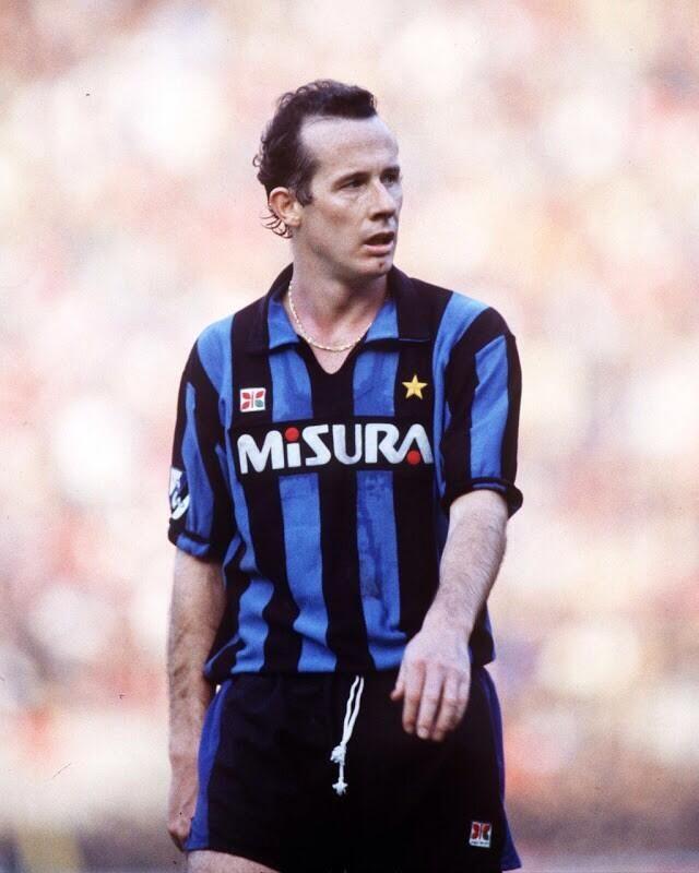 Liam Brady del Inter