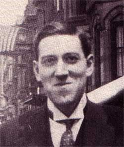 "My only actual ""favorite author"" (I don't really read books) H.P. Lovecraft somehow put into words many weird thoughts and instincts I used to have as a kid. When I began reading his stories, I often felt as if he had known the same things that I was vaguely trying to form into understandable concepts... very cosmic!"