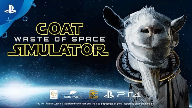 [Video] Goat Simulator: Waste of Space - Announce Trailer   PS4 #Playstation4 #PS4 #Sony #videogames #playstation #gamer #games #gaming