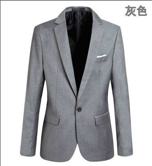 Casual Blazer Men Fashion Plus Size Business Slim Fit Jacket Suits Masculine Blazer Coat Button Suit Men Formal Suit jacket