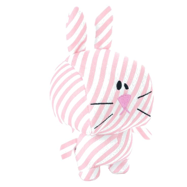 Hunter Dog Toy Striped Stars Range Rabbit – 17 cm Cotton/Polyester, without squeaker, washable at max. 30 °C  Features:   Non Toxic  Flame Resistant  CE Euro Tested  Safe for Babies Safe for Pets  **Euro Tested and Certified
