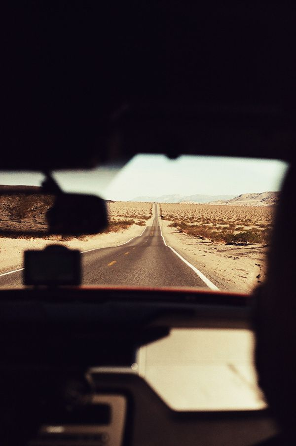 California and more - Travel by Frédéric Garneau, via Behance
