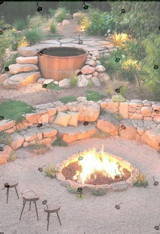 Simple Tricks: Simple Fire Pit Pea Gravel fire pit furniture stones.Rock Fire  Pit Pea Gravel fire pit wall living spaces.Fire Pit Terrace Decks. - Simple Tricks: Simple Fire Pit Pea Gravel Fire Pit Furniture Stones