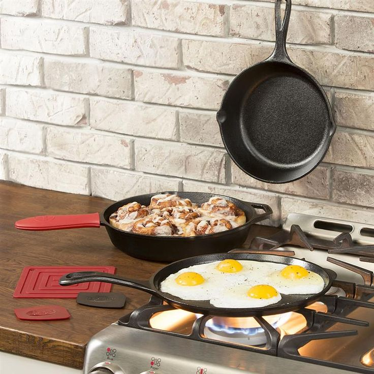 Give the gift that will last forever - cast iron cookware! The perfect set for giving. At Lehmans.com.