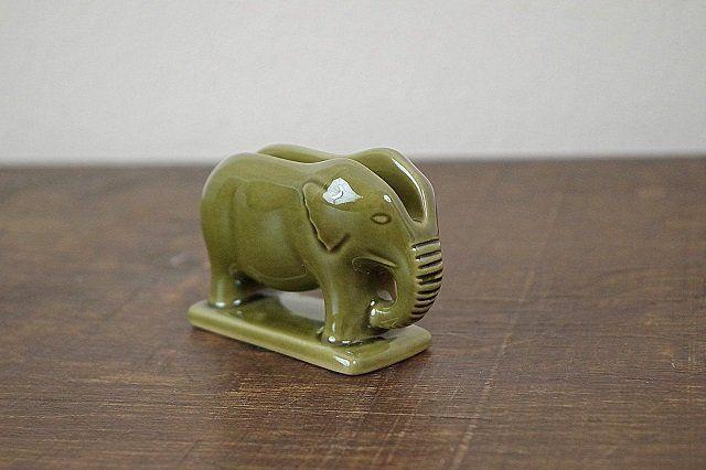 zielony słoń
