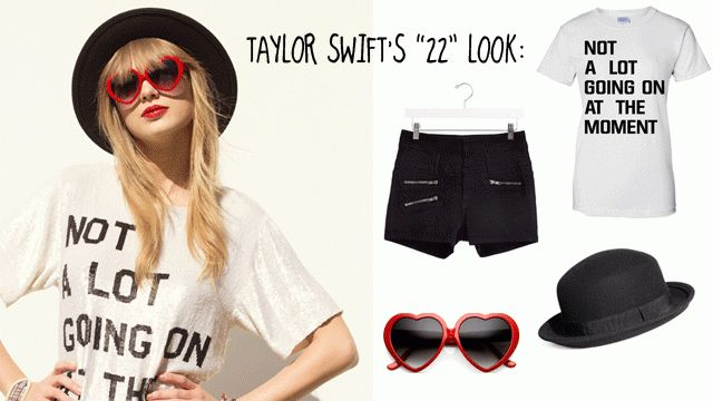 Throwback Thursday: Taylor Swift Costume Ideas (Two different ideas)