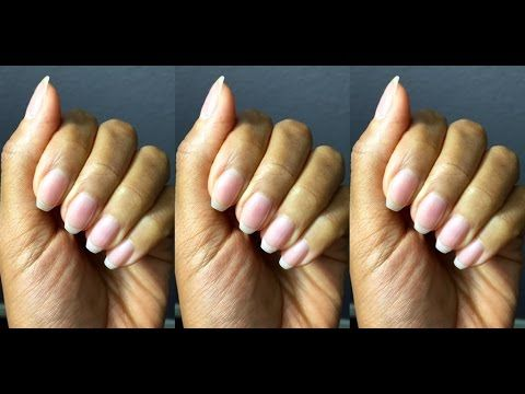 How to grow long nails! How to grow long nails at home!