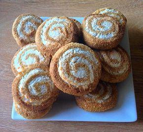 #szafifitt #lightpaleo csupa kókuszkrémes csiga recept (gluténmentes, tejmentes, hozzáadott cukortól mentes, élesztőmentes, csökkentett szénhidrát-, zsír-, és kalóriatartalmú recept) Kókuszkrémes paleo csiga ➡ a bounty ízű krém receptjét itt találjátok: bounty ízű