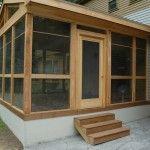 Great Screened Porch Saybrook CT