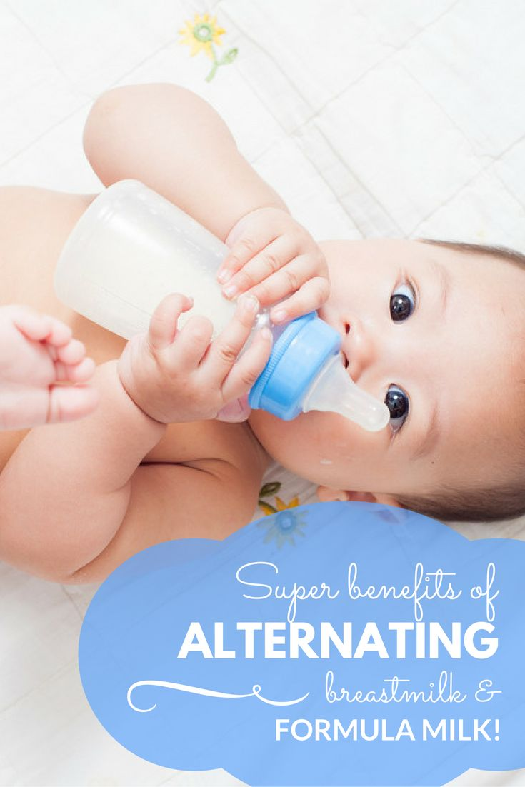 Discover the best benefits of alternating breastmilk and formula milk!