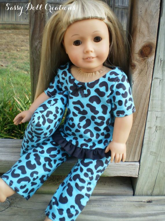 American Girl Doll pajamas pillow Animal by sassydollcreations American Girls Pinterest ...