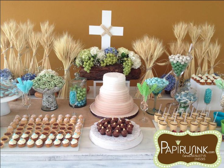 331 best images about primera comunion on pinterest for Decoracion postres