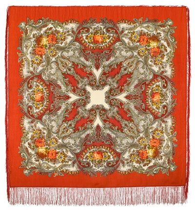 Pavloposadskie platki - Сон бабочки 1463-3