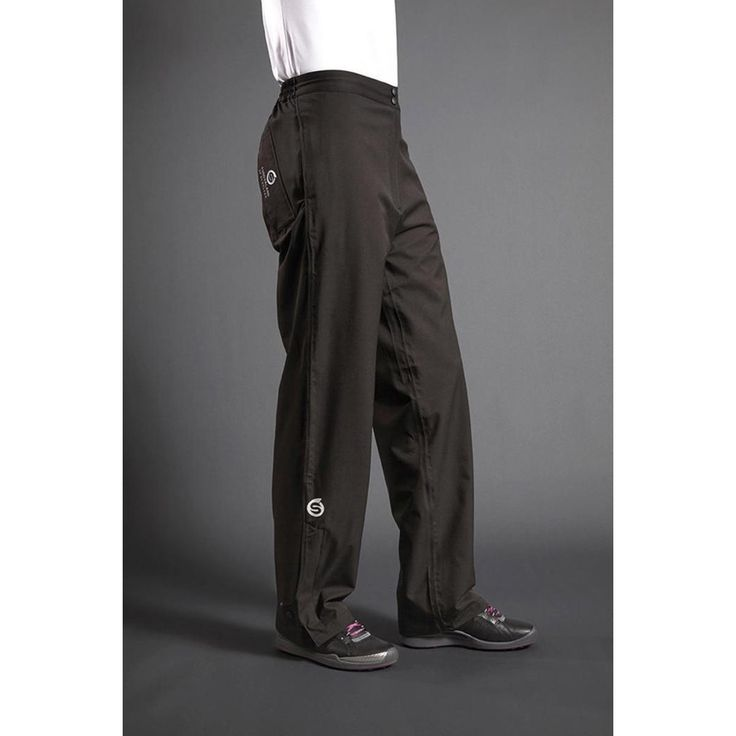 Sunderland Ladies Bergen Waterproof Golf Trousers - Black - High quality and low prices from Sunderland - https://www.foremostgolf.com/sunderland-ladies-bergen-waterproof-golf-trousers-black