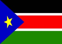 The South Sudan flag! (UNDP)