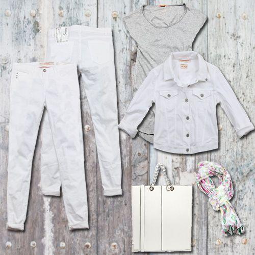 white white white #40weft #ss2014 #womenfashion #fashion #fashionblogger