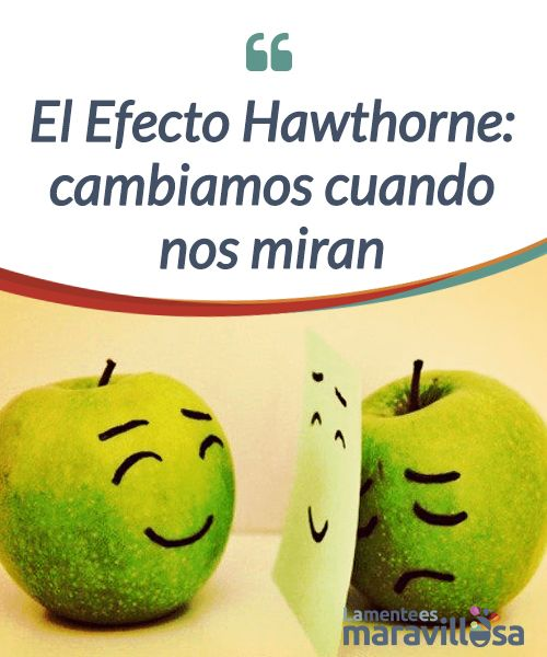 El Efecto Hawthorne: cambiamos cuando nos miran    El Efecto #Hawthorne fue descubierto gracias a una #intervención sobre un grupo de #trabajadores y sentó las bases para la creación de la psicología industrial  #Psicología