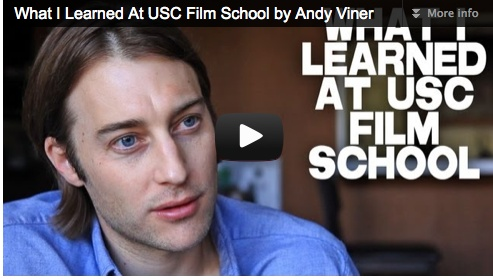 What I Learned At USC Film School by Andy Viner