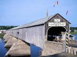 Longest covered bridge in the world!  Hartland, NB