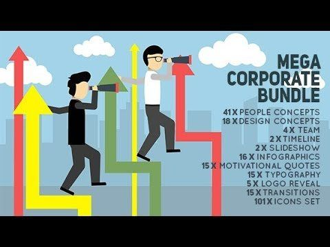 #VR #VRGames #Drone #Gaming Mega Corporate Bundle - People Promotion Kit | After Efects Project Files - Videohive template after, animated, character animation kit, chart background, company timeline, corporate people, crowd funding, currency coin, design, design concepts, digital agency, dollar euro yen pound, Drone Videos, Effects, files, Flat, flat icons, gear machine, marketing person, profit loss infographics, project, sales model, startup business, Template, templates,