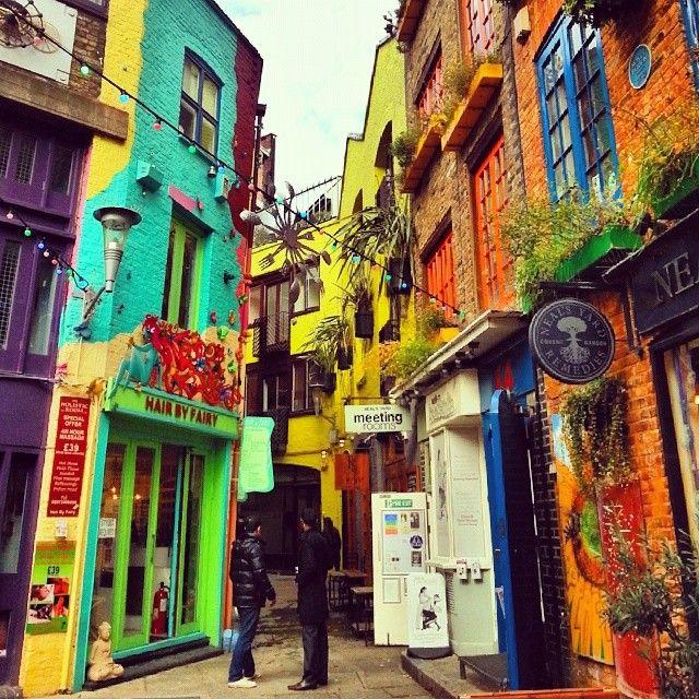 Neal's yard London, England
