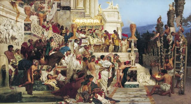 #OnThisDay in 64 AD, the Great Fire of Rome occurred and continued burning until July 26. Is it really true that emperor Nero played the lyra while the capital of the world was burning....? http://yovisto.blogspot.de/2013/07/rome-is-burning.html