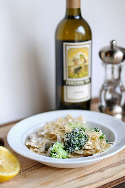 ... with Lemon Ricotta Cream Sauce | :: pasta, potatoes, and bre