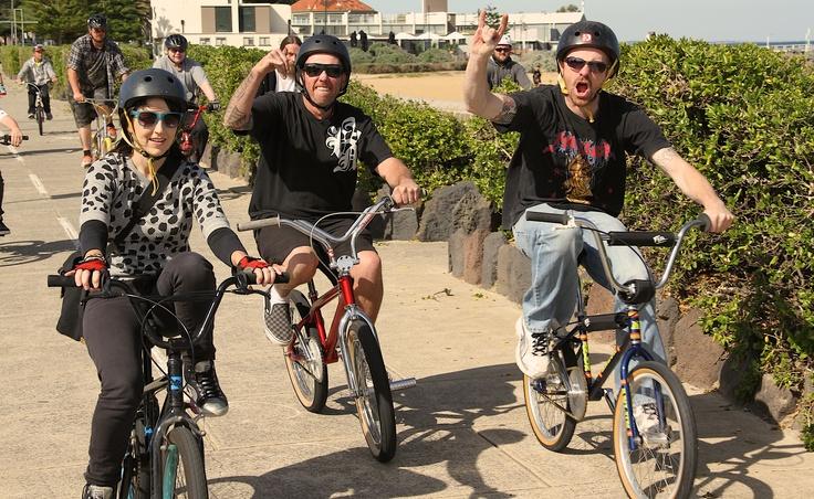 Rad Ride, Melbourne, Australia